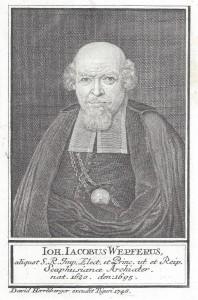 """""""Herrliberger Johann Jakob Wepfer"""" von David Herrliberger"""