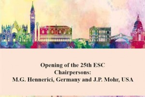 Opening from the 25. ESC in Venice, Ialy