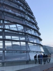 Faculty visit Bundestag